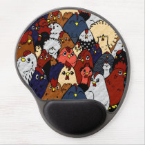 Chicken Love Gel Mouse Pad