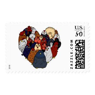 Chicken Love Postage