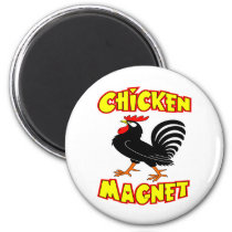 Chicken Magnet Rooster