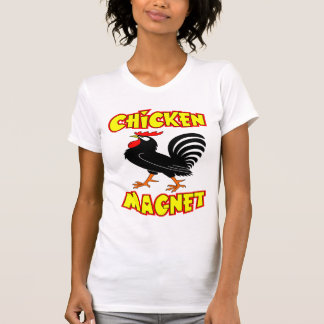Chicken Magnet Rooster T-Shirt