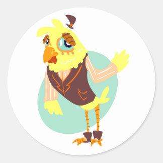 Chicken Man Stickers