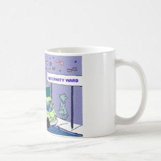 Chicken Maternity Ward Funny Cartoon Gifts & Tees Coffee Mugs