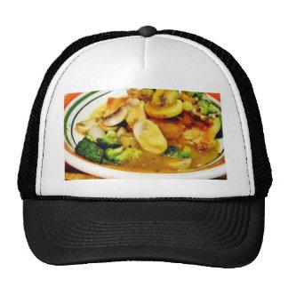 Chicken Mushrooms Brocolli Trucker Hats