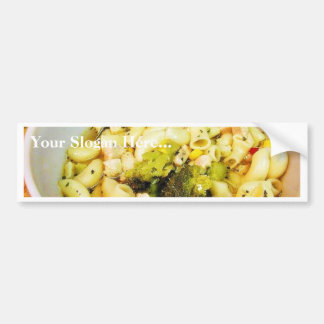 Chicken Noodles Soup Bumper Sticker