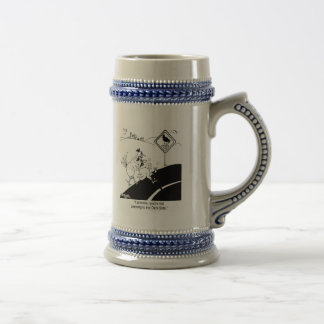 Chicken Not Crossing To The Far Side Beer Stein