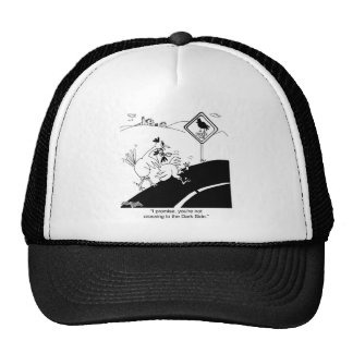 Chicken Not Crossing To The Far Side Mesh Hat