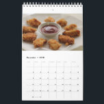 "Chicken Nugget Calendar 2018<br><div class=""desc"">Chicken Nugget Calendar 2018</div>"