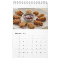 Chicken Nugget Calendar 2018