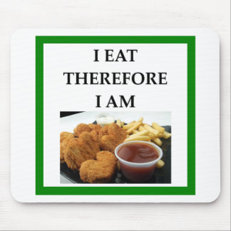 chicken nuggets mouse pad