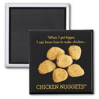 """Chicken Nuggets"" Refrigerator Magnets"