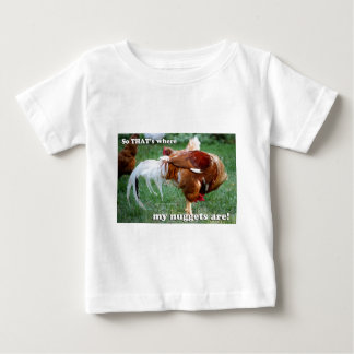 Chicken Nuggets - Rooster Baby T-Shirt