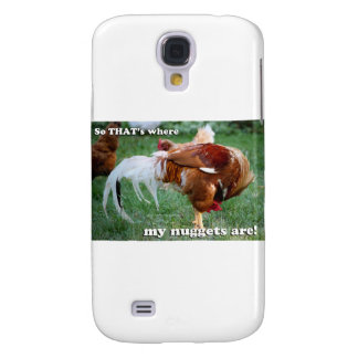 Chicken Nuggets - Rooster Galaxy S4 Case