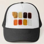 """chicken nuggets trucker hat<br><div class=""""desc"""">gotta love them nuggies</div>"""