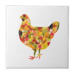 Chicken of fruits, vegetables. Add your own text! Teja