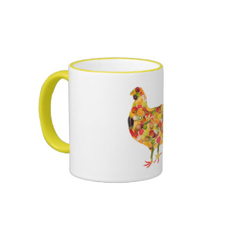 Chicken OF fruits, vegetables. ADD your own text! Mug