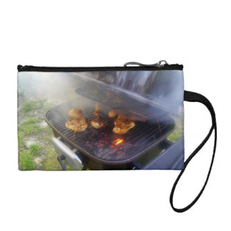 Chicken on the grill coin purse