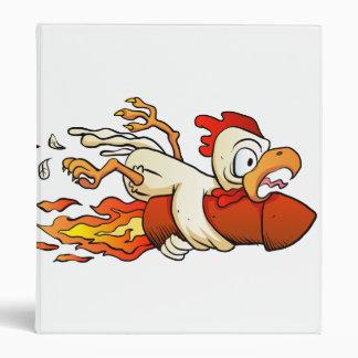 chicken on the rocket. binder