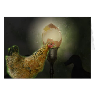 Chicken or Egg Card