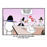 Chicken Or Egg? Funny Gifts & Collectibles Postcard