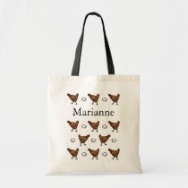 Chicken or the Egg, Add Your Name Tote Bag