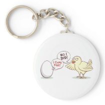 Chicken or the Egg? Keychain
