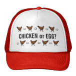 Chicken or the Egg? Mesh Hat