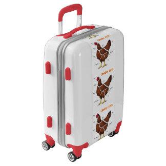 Chicken Parts Luggage