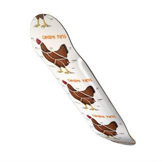 Chicken Parts Skateboard