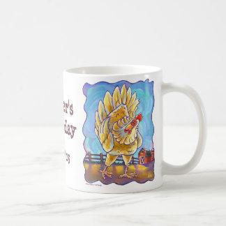 Chicken Party Center Coffee Mug