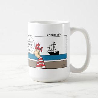 Chicken Pirate Coffee Mug