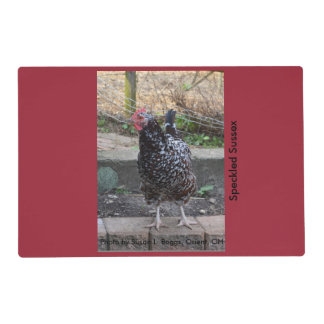 Chicken Placemats Laminated Placemat