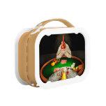 Chicken - Playing chicken Yubo Lunch Box
