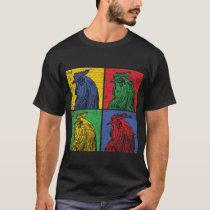 Chicken Popart T-Shirt