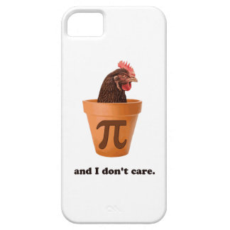 Chicken Pot Pi (and I don't care) iPhone 5/5S Cover