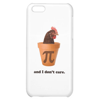 Chicken Pot Pi (and I don't care) iPhone 5C Covers