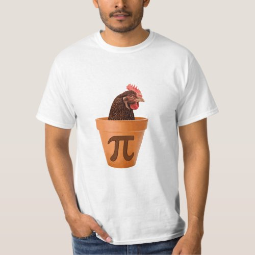 Chicken Pot Pi and I dont care T_Shirt