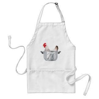 chicken pot pi - Funny Math Apron