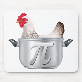 chicken pot pi - Funny Math Mouse Pad