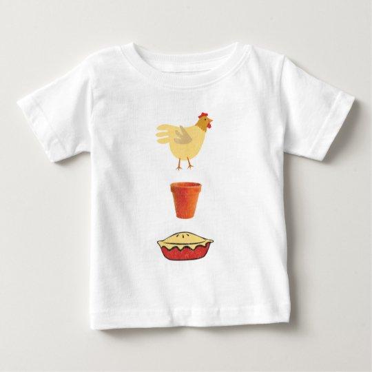 Chicken Pot Pie Baby T-Shirt