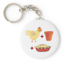 Chicken Pot Pie Keychain