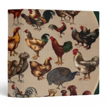 Chicken Poultry Of The World Binder