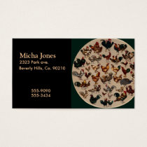 Chicken Poultry Of The World Business Card