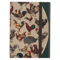 Chicken Poultry Of The World Case For iPad Air