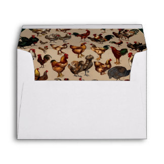 Chicken Poultry Of The World Envelope