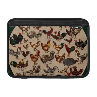 Chicken Poultry Of The World Sleeves For MacBook Air