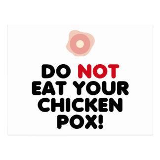 Chicken Pox Postcard