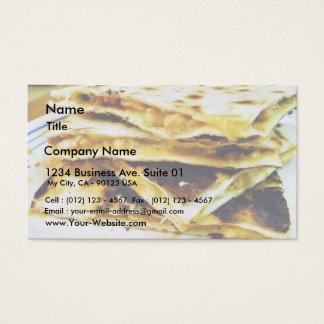Chicken Quesadilla Business Card