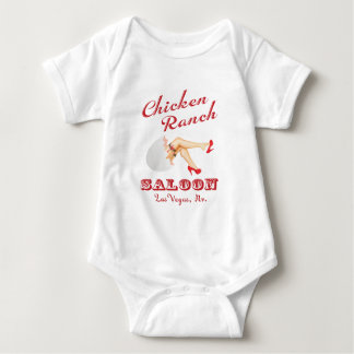 Chicken Ranch Saloon Las Vegas Infant Creeper