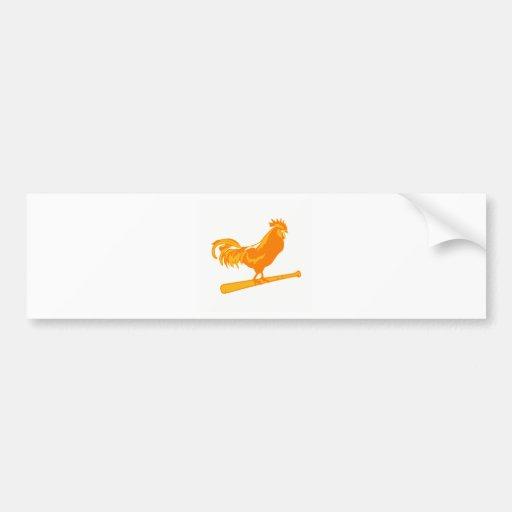 Chicken Ranch Softball Car Bumper Sticker