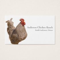 Chicken Rancher Business Card